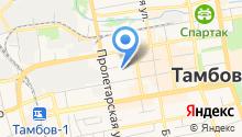 Административно-хозяйственный центр Тамбовского района на карте