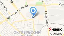 Центр авторазбора на ул. Менделеева на карте
