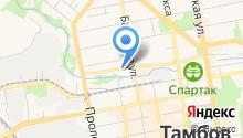Станция скорой медицинской помощи г. Тамбова на карте
