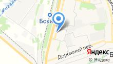 Нотариус Сергеева А.В. на карте