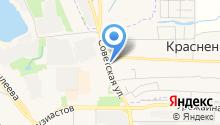 Шиномонтажная мастерская на Совхозной на карте
