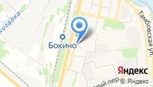 Магазин фастфудной продукции на ул. Центральный микрорайон на карте
