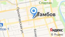 Управление пенсионного фонда РФ в г. Тамбове и Тамбовском районе Тамбовской области на карте