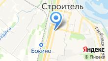 Парикмахерская на ул. Центральный микрорайон на карте
