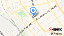 Автомойка на Пролетарской на карте