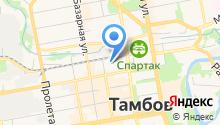 Тамбовская индейка на карте