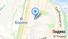Цнинская средняя общеобразовательная школа №2 на карте
