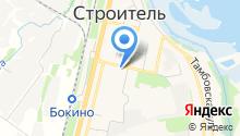 Администрация Цнинского сельского совета на карте