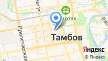Магазин амортизаторов и аккумуляторов на карте