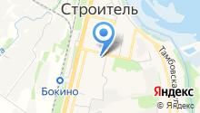 Цнинский хозяйственный центр, МУП на карте