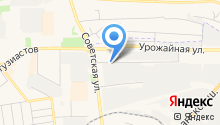 Центр установки автостекла на Советской на карте