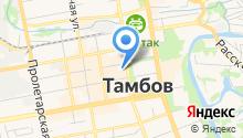 Адвокатская палата Тамбовской области на карте