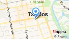Адвокатские кабинеты Стрыгиной Л.С. и Макарий Н.Е. на карте