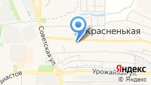 Красненская основная общеобразовательная школа на карте