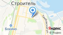 РОНИ на карте