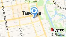 Администрация Тамбовской области на карте