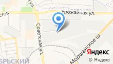 Инспекция Федеральной налоговой службы России по г. Тамбову на карте