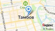 Администрация г. Тамбова на карте