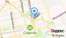 Sprint на карте