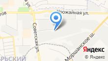 Агентство по ипотечному жилищному кредитованию Тамбовской области на карте