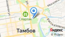 Тамбовский почтамт на карте