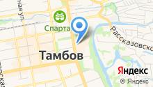 Пленка-Тамбов на карте
