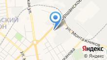 Авторазборка на Моршанском на карте