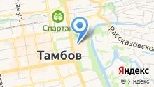 Амадео на карте