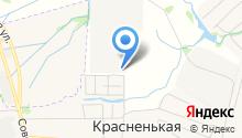 Овощи на карте