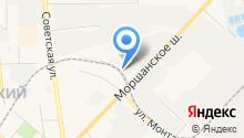 Региональная шинная компания на карте