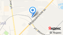 Автомойка на Моршанском шоссе на карте