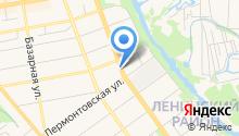 Управление культуры и архивного дела Тамбовской области на карте