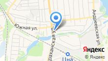 Астраханка на карте