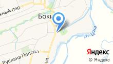 Бокинская средняя общеобразовательная школа на карте