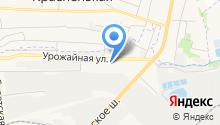 Автогаз на карте