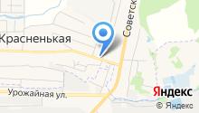 Пригородный, ФГУП на карте
