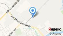 Автодор-Тамбов на карте