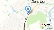 Продуктовый магазин на Советской на карте
