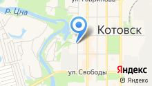 Мировые судьи г. Котовска на карте