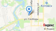 Котовский индустриальный техникум на карте