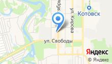 Котовская детская школа искусств на карте