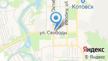 Магазин окон и натяжных потолков на карте