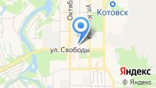 Котовский городской отдел судебных приставов на карте