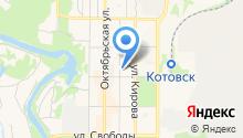 Отделение ГИБДД отдела МВД РФ по г. Котовску на карте