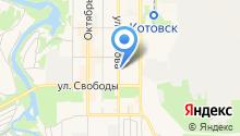 Котовск-ТАКФ на карте