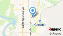 Магазин печатной продукции на Красногвардейской на карте