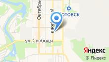 Центр социальных услуг для населения г. Котовска на карте