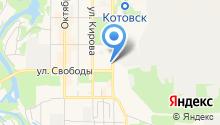 Станция скорой помощи г. Котовска на карте