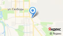 Магазин автозапчастей на ул. Пархоменко на карте
