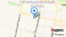 Anastasia на карте